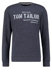 Tom Tailor Sweatshirt Knitted Navy Dark Blue