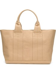 Tomas Maier Large Tote Nude And Neutrals