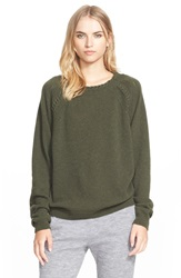 Belstaff Wool And Cashmere Sweater Military Green