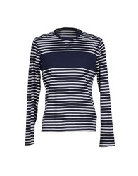 Kai Aakmann Topwear T Shirts Men Dark Blue