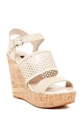 French Connection Devi Wedge Sandal Beige