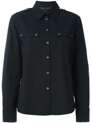 Marc By Marc Jacobs Military Shirt Black