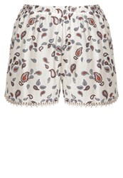 Glamorous Shorts Cream Multicoloured