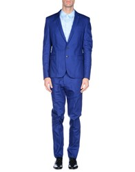 Les Hommes Suits And Jackets Suits Men Blue
