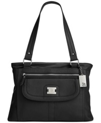 Style And Co. Yassimen Satchel Black