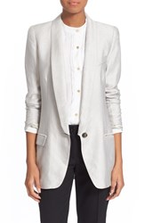 Women's Smythe Long Shawl Lapel Blazer