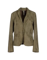 Montgomery Suits And Jackets Blazers Women Military Green