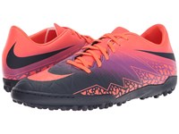 Nike Hypervenom Phelon Ii Tf Total Crimson Obsidian Vivid Purple Bright Crimson Men's Soccer Shoes Multi