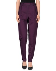 Liviana Conti Trousers Casual Trousers Women Mauve