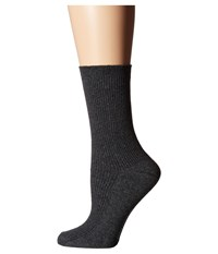 Richer Poorer Nightingale Charcoal Women's Crew Cut Socks Shoes Gray