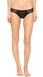 Josie Natori Couture Rendezvous Panties Black