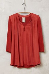 Dolan Oriel Blouse Light Red
