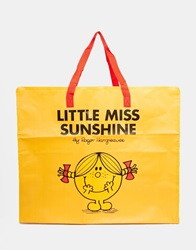 Little Miss Sunshine Large Storage Bag Yellow