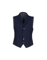 Brian Dales Vests Dark Blue