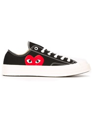 Comme Des Garcons Play Comme Des Garcon Play X Converse 'Chuck Taylor All Star' Low Sneakers Black