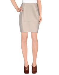 Agnona Skirts Knee Length Skirts Women Beige