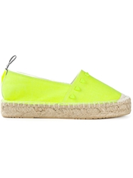 Love Moschino Heart Embellished Espadrilles Green