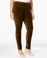 Styleandco. Style Co. Plus Size Corduroy Leggings Only At Macy's Rich Truffle