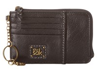 The Sak Iris Card Wallet Black Onyx Wallet Handbags