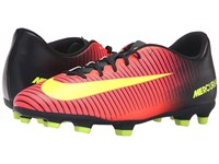 Nike Mercurial Vortex Iii Fg Total Crimson Black Pink Blast Volt Men's Soccer Shoes