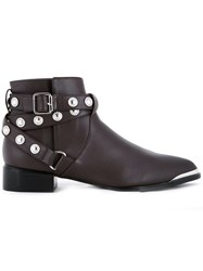 Senso 'Danny' Ankle Boots Brown