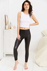 Out From Under Matte Vegan Leather Legging Black