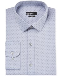 Bar Iii Slim Fit Floral Print Chambray Dress Shirt Only At Macy's