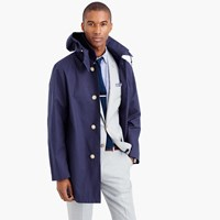 J.Crew Traditional Weatherweartm Hooded Derby Raincoat