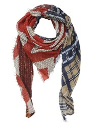 Bob Strollers Printed Modal And Cashmere Wool Scarf