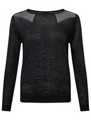Alice By Temperley Somerset By Alice Temperley Ottoman Rib Jumper Black