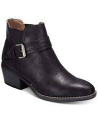 White Mountain Hadley Casual Booties Women's Shoes Black