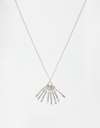 And Mary Necklace With 'I Love You' Keys Silver
