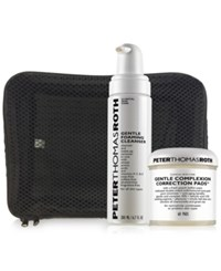 Peter Thomas Roth 3 Pc. Complexion And Cleanser Set A 72 Value