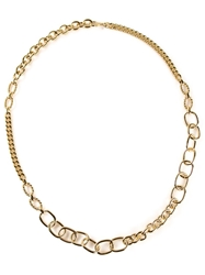Gerard Yosca Chain Necklace Metallic