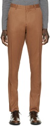 Burberry Brown Stirling Chinos