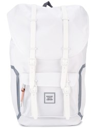 Herschel Supply Co. Double Strap Fastening Backpack White