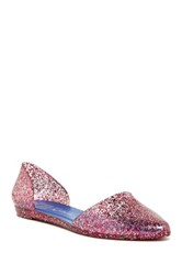 Jeffrey Campbell Jelly Love D'orsay Flat Pink