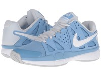 Nike Air Vapor Advantage Light Blue Pure Platinum White Women's Tennis Shoes