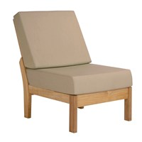 Barlow Tyrie Haven Deep Seating Armless Chair