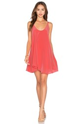 Rory Beca Harira Dress Coral