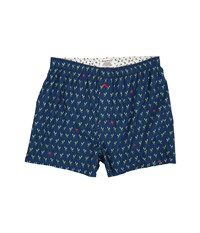 Tommy Bahama Island Washed Cotton Woven Boxer Lobster Claw Blue Red Men's Underwear