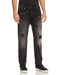 True Religion Ricky Relaxed Fit Jeans In Mended Warrior