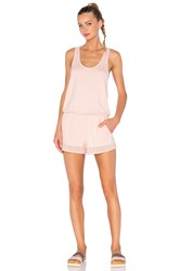 Alo Yoga Tranquility Romper Blush