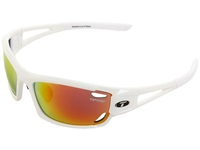Tifosi Optics Dolomite 2.0 Golf Interchangeable Pearl White Smoke Red Gt Ec Lens Sport Sunglasses