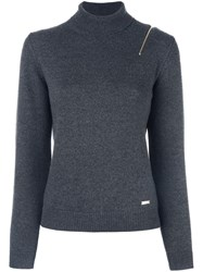 Dsquared2 Turtle Neck Sweater Grey
