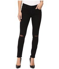 Lucky Brand Lolita Skinny In Black Destructed Black Destructed Women's Jeans