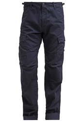 Carhartt Columbia Cargo Trousers Dark Navy Rinsed Dark Blue