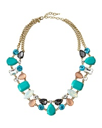 Greenbeads By Emily And Ashley Multicolor Crystal Station Necklace