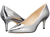 Nine West Margot Silver Synthetic High Heels