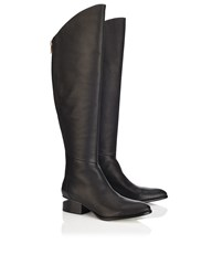 Alexander Wang Black Leather Sigrid Long Boots